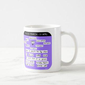 """MJ1449 """"mahoney joe"""" aries zodiac starsign Mugs"""