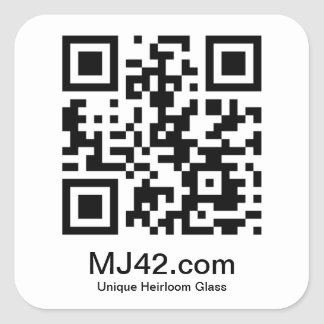 MJ42.com Square Sticker