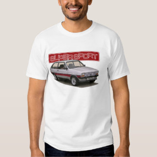 mk1 fiesta supersport t-shirts