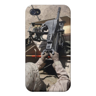 MK-19 automatic grenade launcher Cases For iPhone 4