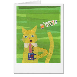 M'Kay? Office Cat card
