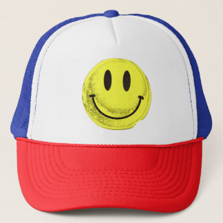 MKFMJ Smile Face Trucker Hat