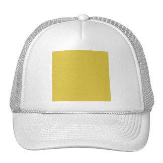 MLE pd36 YELLOW POLKADOT DECORATIVE  EMBOSSED PATT Mesh Hat