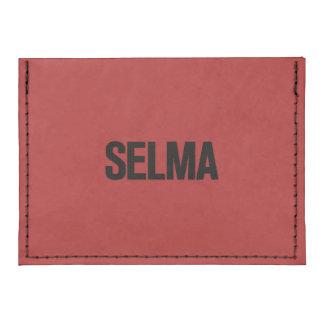 MLK Day- Selma Black on Red Tyvek® Card Case Wallet