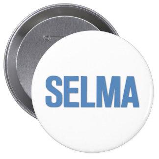 MLK Day-Selma Blue 10 Cm Round Badge