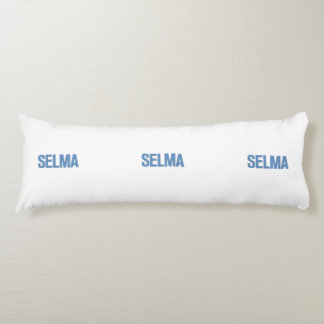 MLK Day-Selma Blue Body Pillow