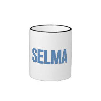 MLK Day-Selma Blue Mug
