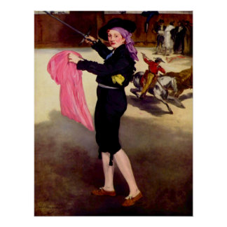 Mlle. Victorine in the Costume of a Matador -Manet Posters