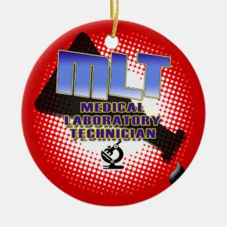 MLT ORNAMENT FLASK MEDICAL LAB TECH CHRISTMAS