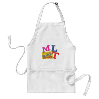 MLT WHIMSICAL FUN ACRONYM LETTERS LABORATORY APRONS