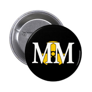 MM - Machinist's Mate 6 Cm Round Badge