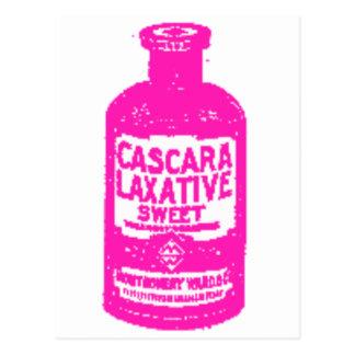 Mm...sweet laxative! postcard