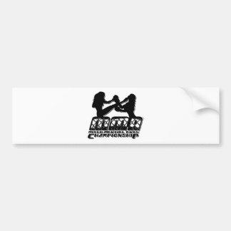 MMA 07 BUMPER STICKER