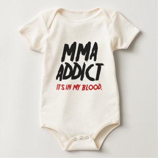 MMA addict Baby Bodysuit