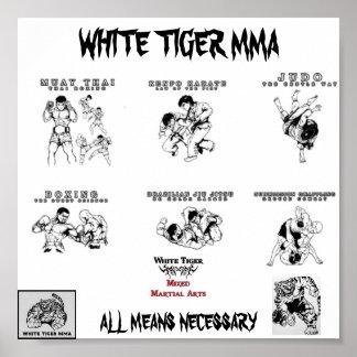 mma all arts2, Logo1_copy-224x172, tiger mma, u... Poster