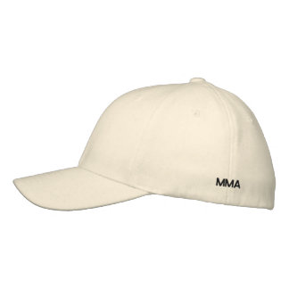 MMA Cap Embroidered Baseball Cap
