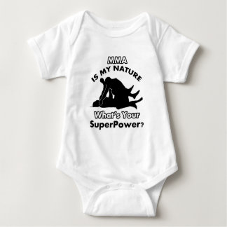 MMA DESIGN BABY BODYSUIT