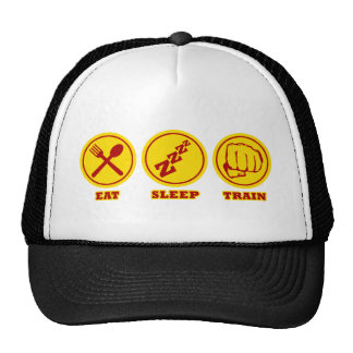 MMA Eat Sleep Train hat