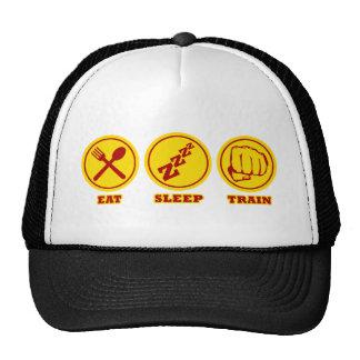 MMA Eat Sleep Train hat