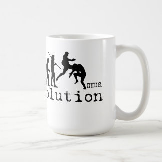 MMA Evolution Chart Flying Knee Mug