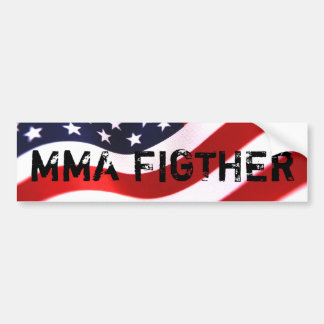 MMA FIGTHER Bumper Sticker