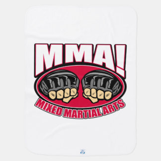 MMA Fists Baby Blanket