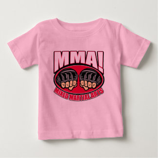 MMA Fists Baby T-Shirt