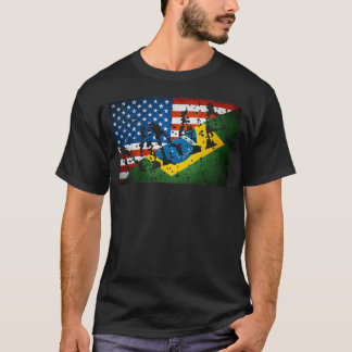 """MMA Flags Fusion """"Tagged"""" T-shirt"""