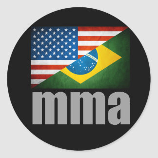 MMA Flags Sticker