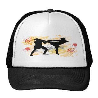 MMA Head Kick Trucker Hat