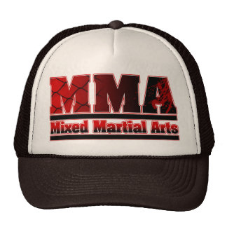 MMA Mixed Martial Arts Chain & Blood Hat