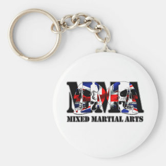 MMA Mixed Martial Arts UK Skulls Key Ring