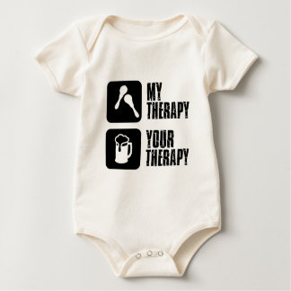 mma  my therapy baby bodysuit