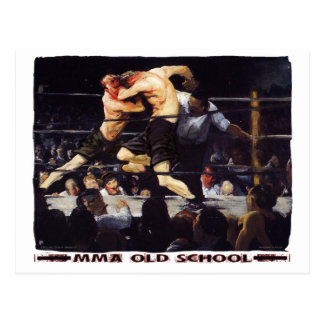 MMA Old School Postcard