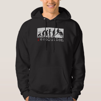MMA Revolution - Evolution Chart Dark hoodie