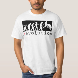 MMA Revolution - Evolution Chart Strip T-shirt