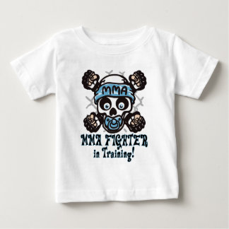 MMA Skull and Binky Baby T-Shirt