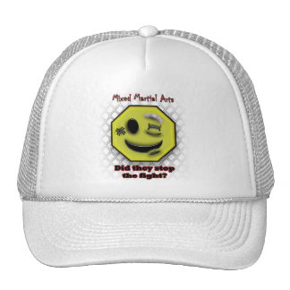MMA Smile, Did they stop the fight? Hat