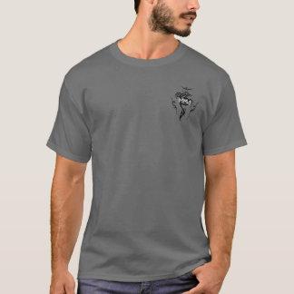 MMA TRIBAL WHITE BORDER PNG T-Shirt