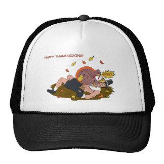 MMA Turkey vs Pilgrim Trucker Hat