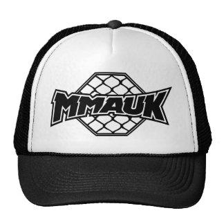 MMA UK Classic Logo - Black Mesh Hat