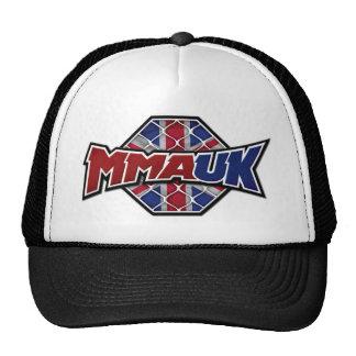 MMA UK Classic Logo - Colour Mesh Hats