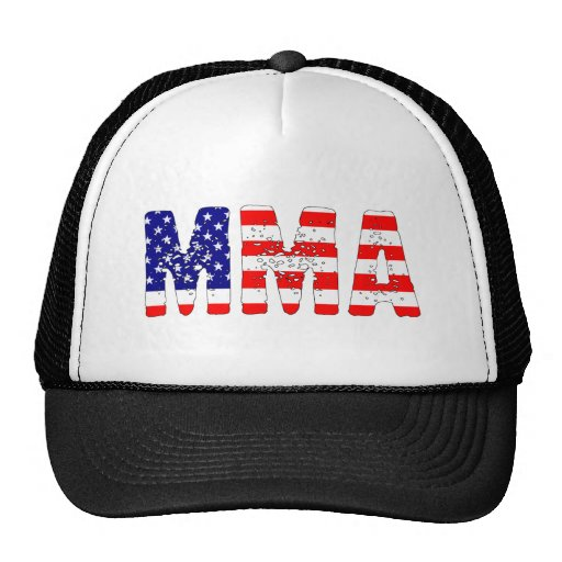 MMA USA Flag Trucker Hat