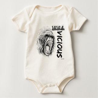 MMA - Vicious Baby Bodysuit