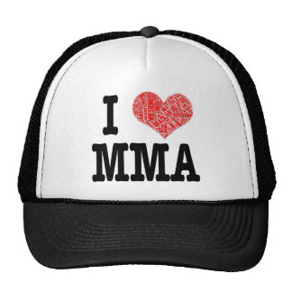 MMAUK - I 3 MMA MESH HAT