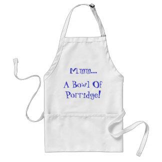 Mmm...A Bowl Of Porridge! Standard Apron