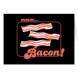 Mmm Bacon Card