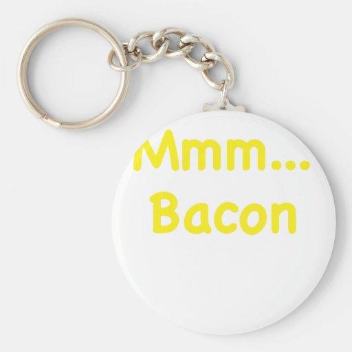 Mmm... Bacon Key Chains