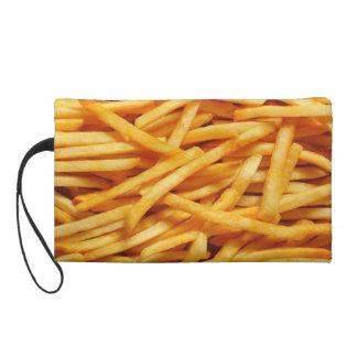 mmm fries wristlet purse