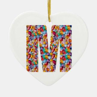 MMM GGG FFF EEE E F G M MM GG FF EE Gifts Christmas Ornament